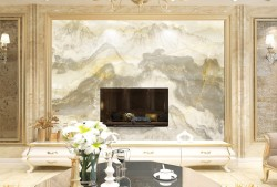大理石背景墙有什么优点?