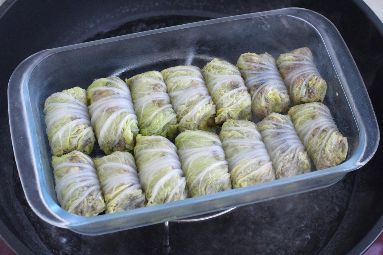 白菜卷酿肉的做法