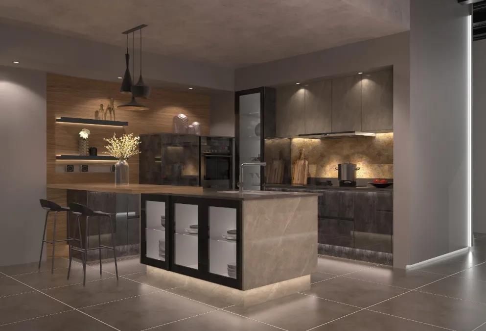 厨房灯安装在哪个位置好?