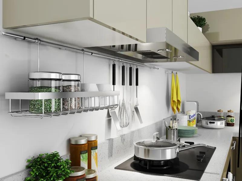 狭长型厨房装修,该如何设计?